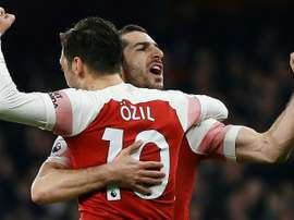 Özil and Mkhitaryan could be leaving Arsenal. AFP