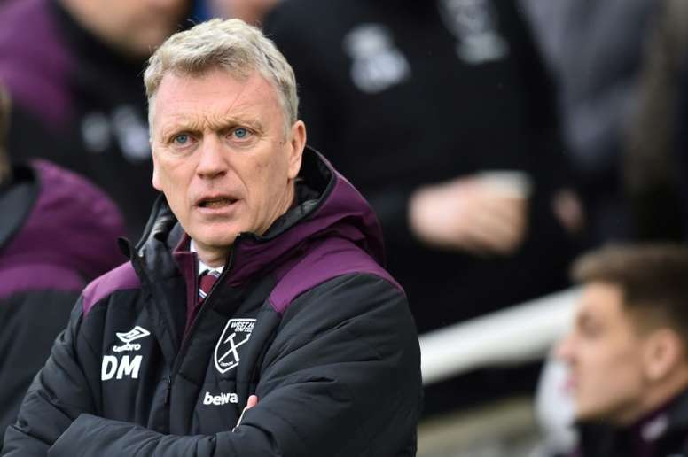 David Moyes já não é o treinador do West Ham. AFP
