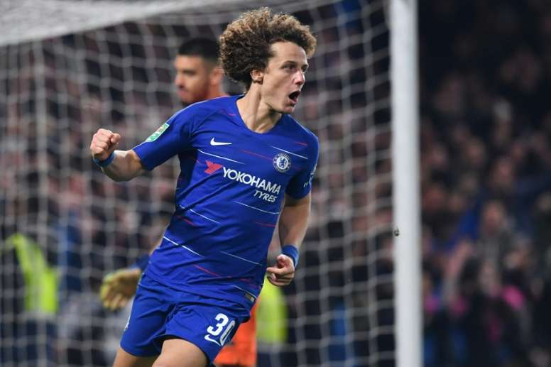 David Luiz wants to move to Arsenal this summer. AFP