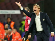 Davide Nicola is Torino's new coach. AFP