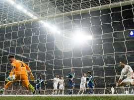 Diego Benaglio se consuela con haber hecho sufrir al Real Madrid. AFP