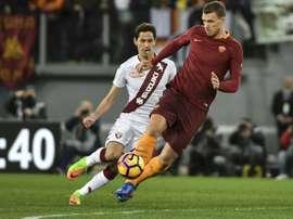 Lukic cherche une nouvelle équipe et verrait d'un bon oeil un départ vers Levante. AFP