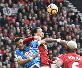 Ibra stamp was an accident, says Mings. AFP