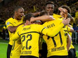 Atletico were on the wrong end of a four-goal thrashing by Borussia Dortmund. AFP