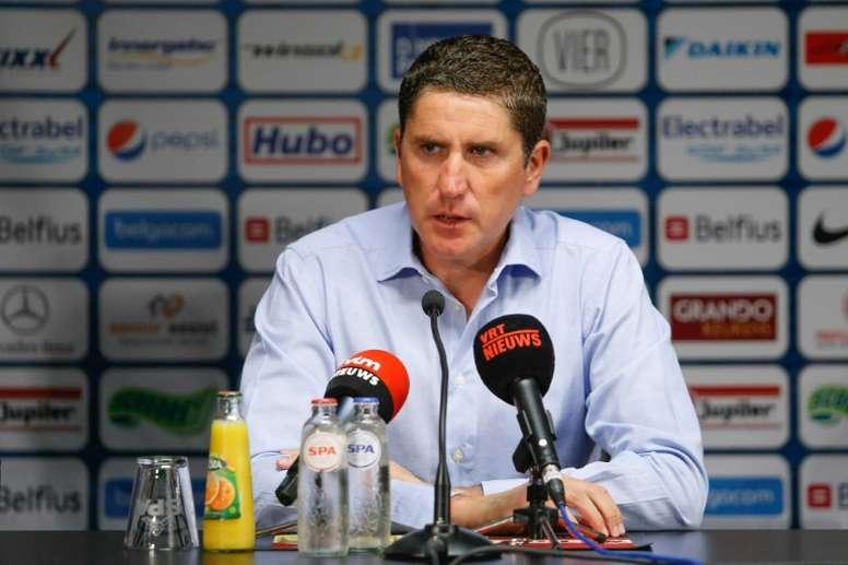 Juan Carlos Garrido vuelve al fútbol español. AFP/Archivo
