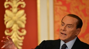 Silvio Berlusconi wants Monza to get promoted to Serie A. AFP