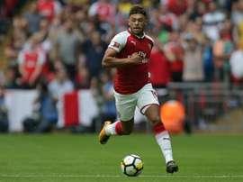 Chamberlain terá recusado trocar de clubes na capital inglesa. AFP
