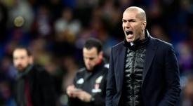 Um possível time titular de Zidane no United. AFP