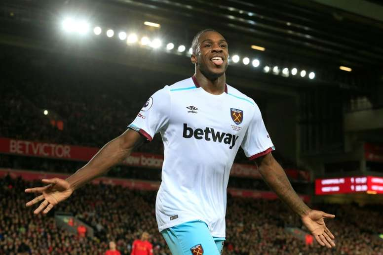 Antonio is set to sign a new contract at West Ham. AFP