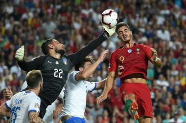 Andre SIlva was the difference in the last meeting between the two sides. AFP