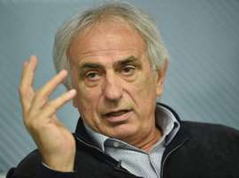 Japan's coach Vahid Halilhodzic tries to find solutions to the dissapointing match against Iraq. AFP
