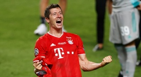 Lewandowski arrasó en el 'Fantasy'. AFP