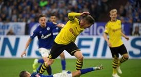 Il rientro in campo della Bundesliga. AFP