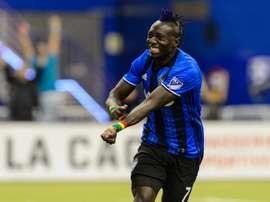 Oduro abrió el marcador ante Toronto .AFP