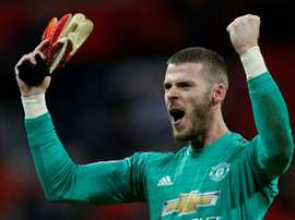 De Gea is expected to sign a new deal in the coming days. AFP