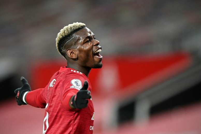 Paul Pogba insists he is committed to Manchester United despite comments from his agent. AFP