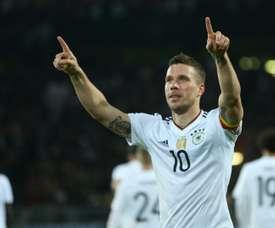 Carlos Zambrano falou sobre Podolski. AFP