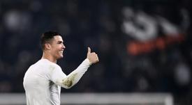 Ronaldo a signé avec la Juventus l'été dernier. AFP