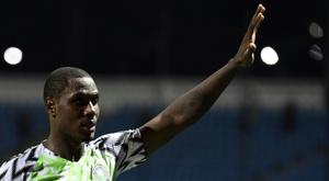 Ighalo deja la Selección de Nigeria. AFP