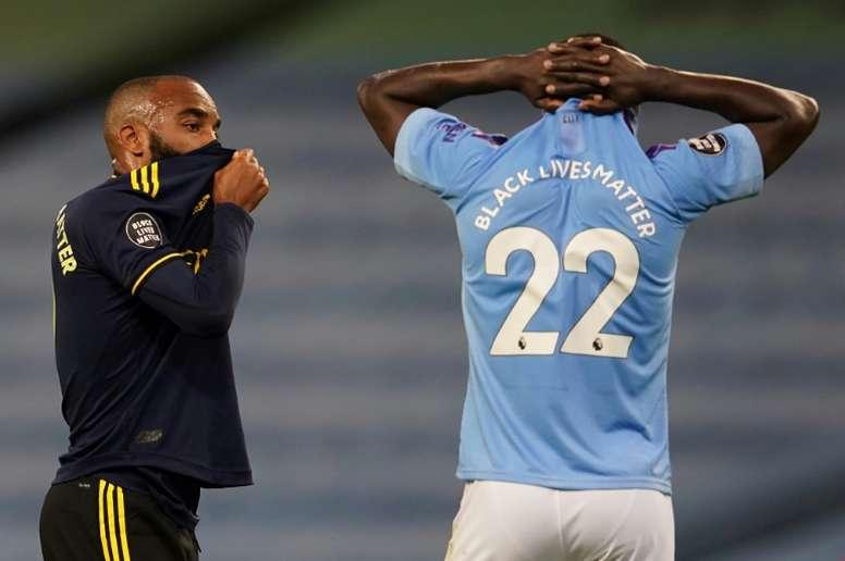 Guardiola elogia Mendy. AFP