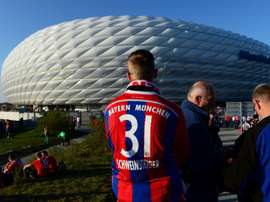 Jennings failed to make an impression at the Allianz Arena. AFP