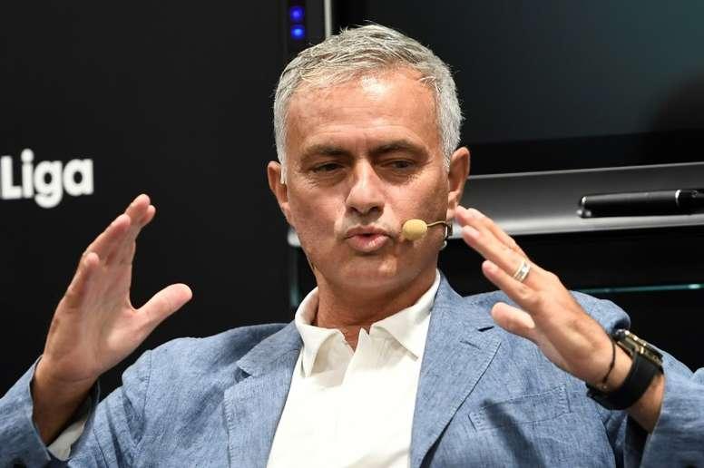 Ni Messi, ni Cristiano : quel est le meilleur joueur que Mourinho a vu ? AFP