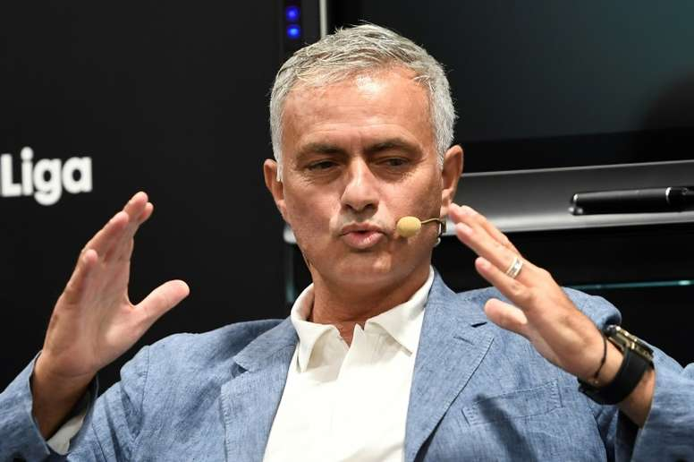 Ni Madrid, ni Arsenal... Mourinho espera al Tottenham. AFP