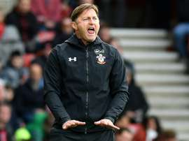 Ralph Hasenhuettl. Southampton manager. AFP