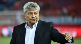 Lucescu va continuer à s'entrainer. AFP