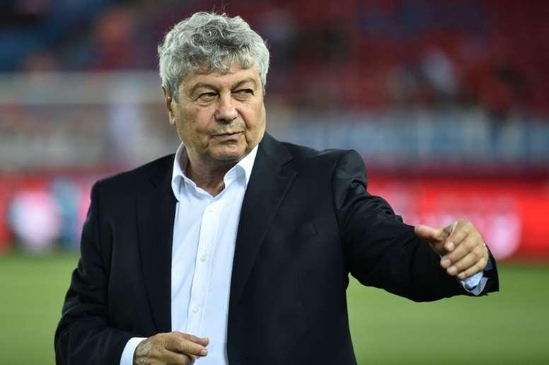 La respuesta de Lucescu a los ultras de su equipo que le odian. AFP