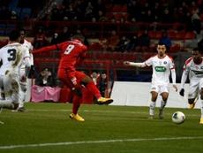 England's Mavididi sparks Dijon cup goal glut. AFP