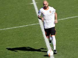 Zaza, now at Valencia, had a disappointing loan spell at West Ham at the start of last season. AFP