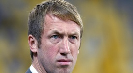 Graham Potter is manager. AFP