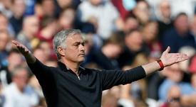 Mourinho não passa por seu melhor momento. AFP