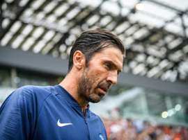 Buffon will face tough competition for the PSG goalkeepers slot. AFP