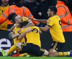 Wolves conquered high-flying Chelsea. AFP