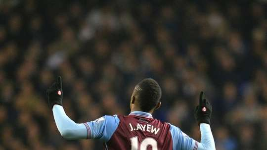 Jordan Ayew is to move from Aston Villa to Swansea with Taylor going the opposite direction. AFP
