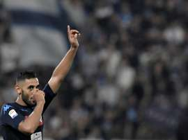 Ghoulam ha renovado con el Nápoles hasta el año 2022. AFP