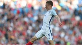 Jamie Vardy's rise to the England team. AFP