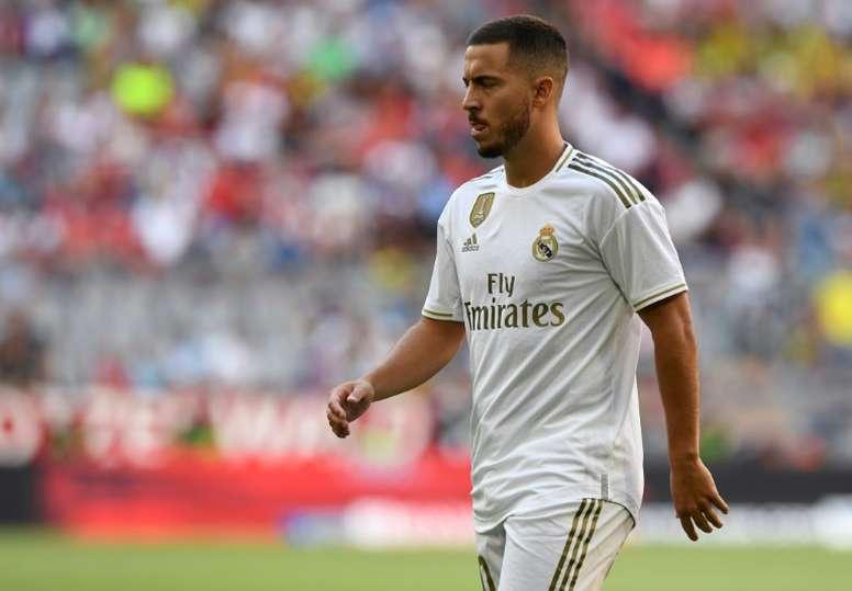 Hazard pourrait débuter contre Villarreal. AFP