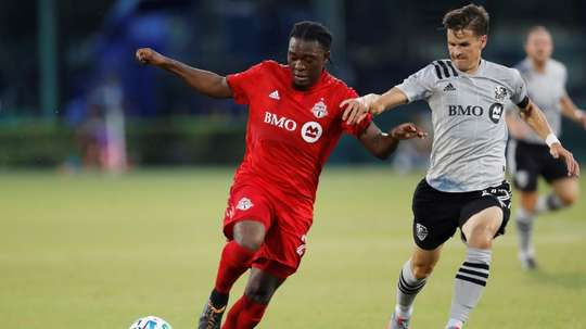 Akinola hat-trick lifts Toronto over Montreal in MLS tourney. AFP