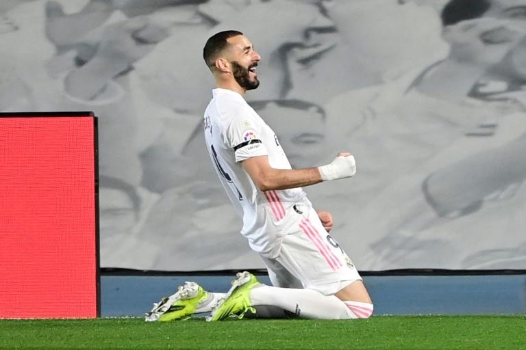Benzema hizo el 1-0 en el 'Clásico'
