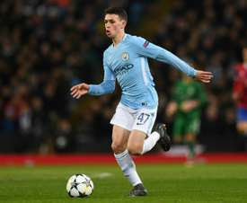 Manchester City's Phil Foden has been tipped for England success. AFP