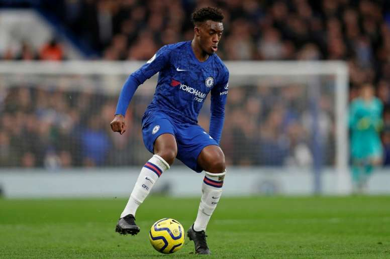 Hudson-Odoi is a wanted man. AFP