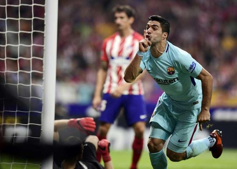 'Cuatro': Luis Suárez prefiere ir al Atleti antes que a la Juve. AFP