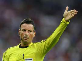 Mark Clattenburg was one of England's top referees. AFP