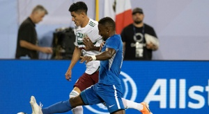 Mexico beat Martinique to reach Gold Cup quarter-finals.