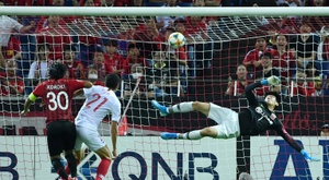 Koroki sent Urawa Red Diamonds through on away goals. AFP