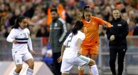 Lieke Martens - the Dutch star hoping to fulfil Cruyff's World Cup dream