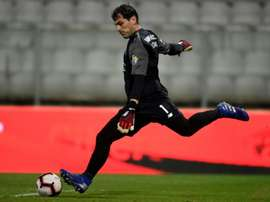 Iker Casillas in action for Porto.